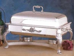 Chafer, Silver 8 Qt Oblong