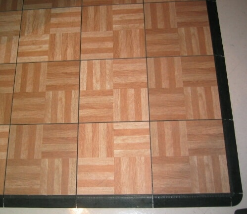 Rent a wood parquet dance floor for your party at all for Wood floor snap lock