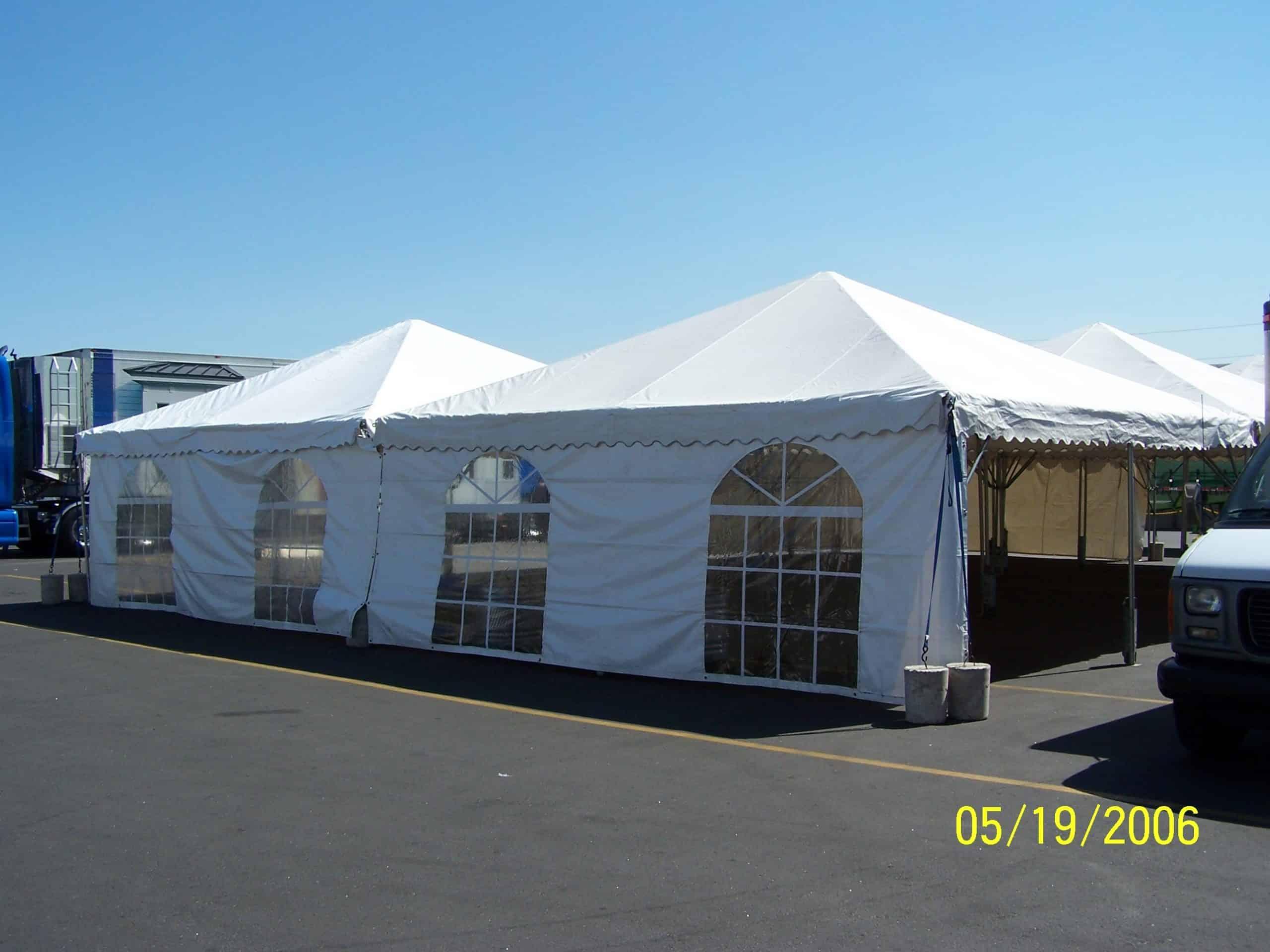 Canopy Frame Tent Sidewall Cathedral Window 20u2032 & Rent a cathedral window sidewall for your party at All Seasons ...
