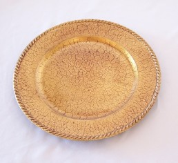 Plate Charger, Gold