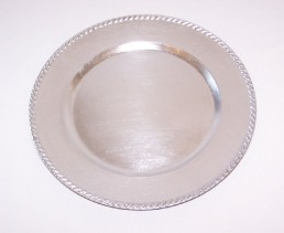 Plate Charger, Silver