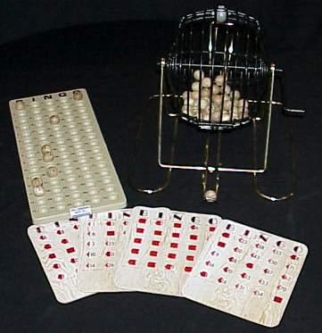 bingo machine rental