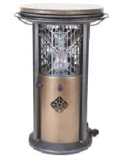 bistro table heater
