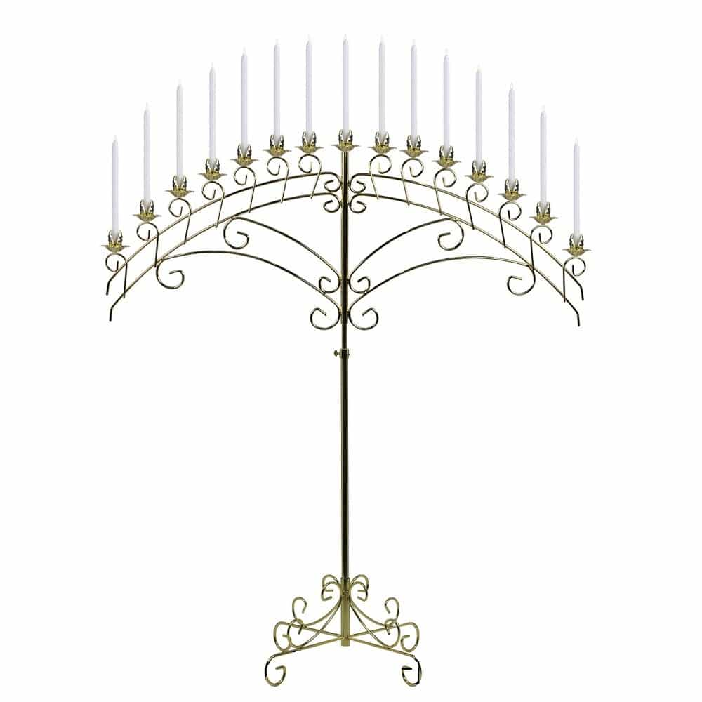 rent a brass candelabra for your next party at all seasons rent all