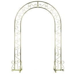 brass wedding arch