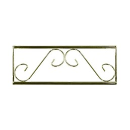 brass wedding arch extender