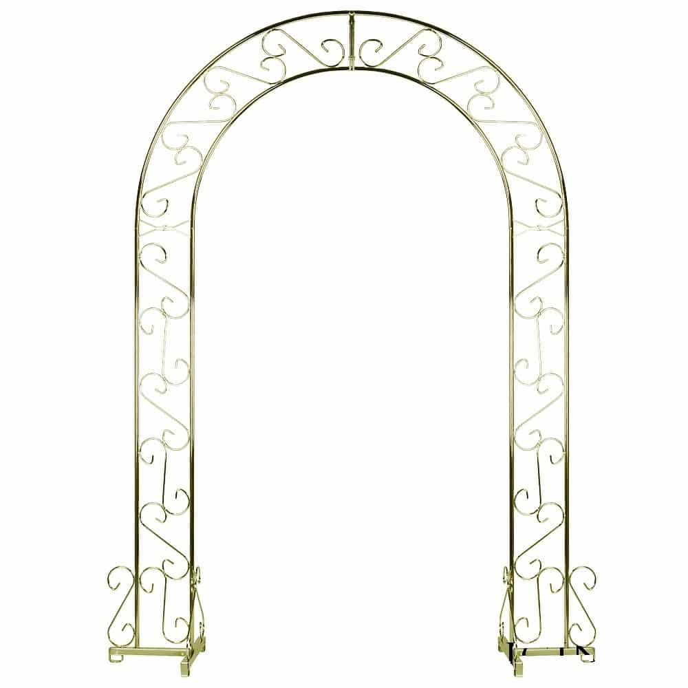 Rent A Brass Wedding Arch For Your Wedding At All Seasons