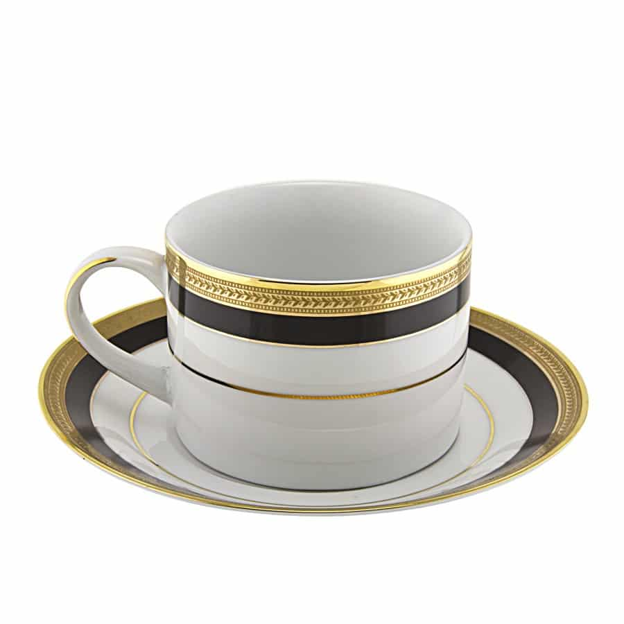 Coffee Cup Black Gold