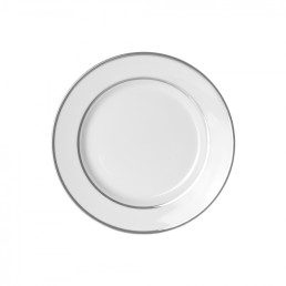 china silver rim salad plate