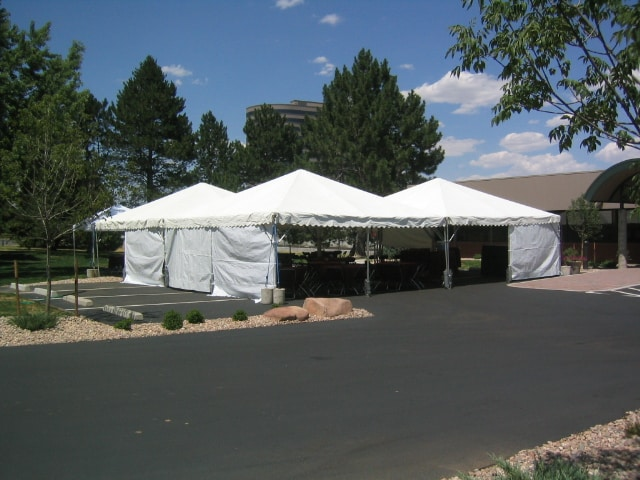 Canopy Frame Tent Sidewall White 20u2032 & Rent a canopy sidewall for your next party at All Seasons Rent All