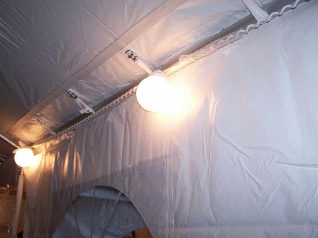 Lights String Lights 8 Globe 50u2032 & Rent some canopy lighting for your next party at All Seasons Rent All
