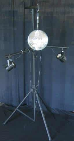 Rent A Free Standing Mirror Ball For Your Next Party At