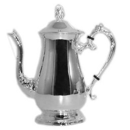 silver tea/coffee pot