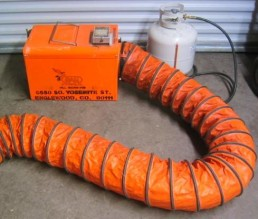 small tent heater