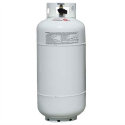 40# propane tank