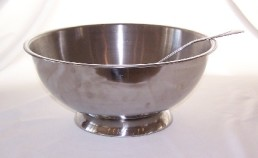 PUNCH BOWL, Stainless