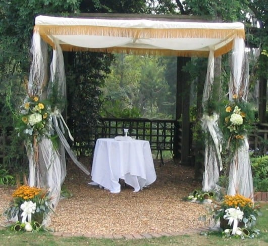 Chuppah & Rent a chuppah for your wedding at All Seasons Rent All