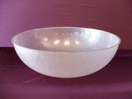 pebbled bowl