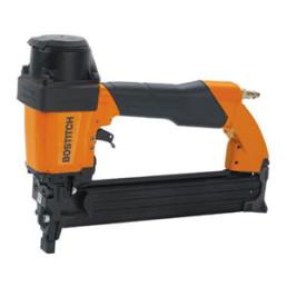 pneumatic construction stapler