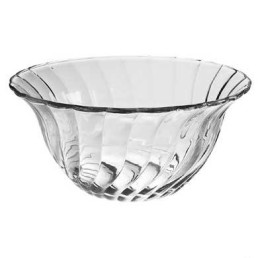 punch bowl spiral glass