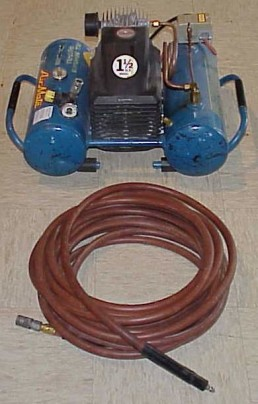 1.5 hp electric compressor