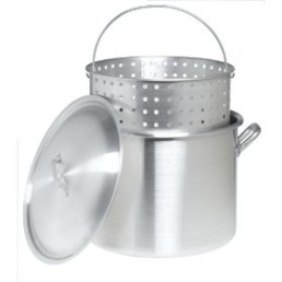 stock pot mesh basket