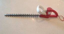 "24"" double sided electric hedge trimmer"