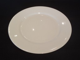 white china bread & butter plate