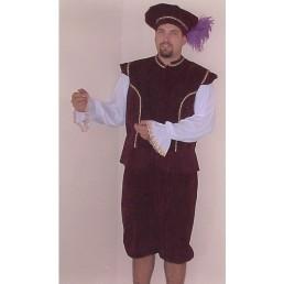 Renaissance Man - Burgundy