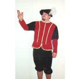Renaissance Man - Red & Black
