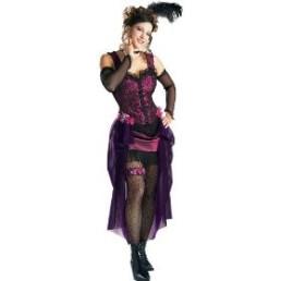 Saloon Girl - Purple