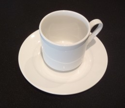 white china coffee cup