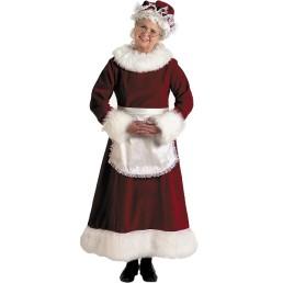 mrs santa deluxe velvet