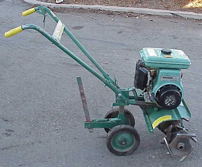 Rent a 5 hp Front Spike Tine Garden Rototiller