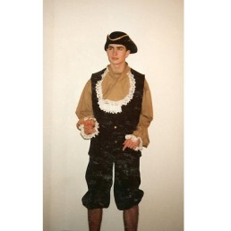 colonial man brown