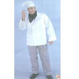 chef coat hat & scarf