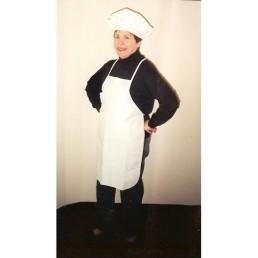 chef hat & apron