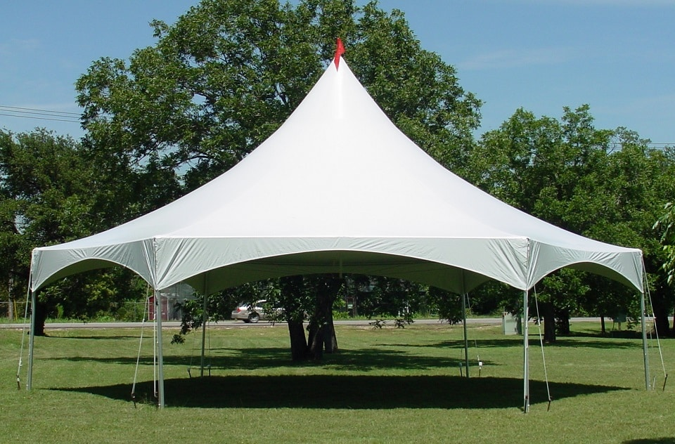 Canopy Marquee Tent 40u2032 Hexagon White & Rent a canopy tent for your next outdoor event at All Seasons Rent All