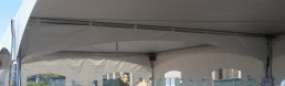 marquee tent rain gutter