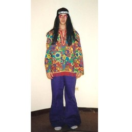70's hippie flower child male