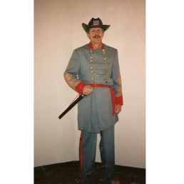 confederate officer red trim
