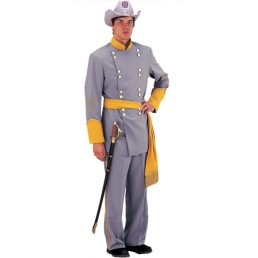 confederate officer yellow trim