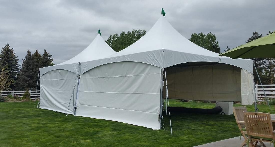 Canopy Marquee Tent 20u2032 x 20u2032 White & Rent a Marquee Canopy or Tent for your next event at All Seasons ...