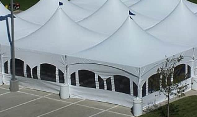 Canopy Marquee Tent Sidewall 20u2032 with Windows & Rent a Marquee Canopy Sidewall at All Seasons Rent All