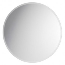 round beveled centerpiece mirror