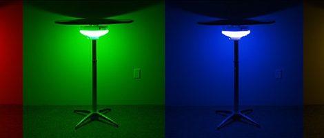 bistro table light