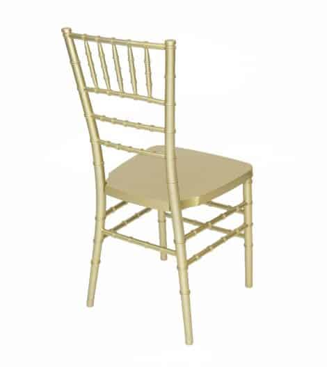 gold chivari chair back