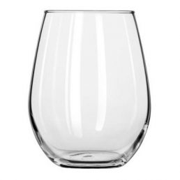 stemless wine glass 11.75 oz