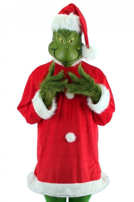 Grinch Santa costume