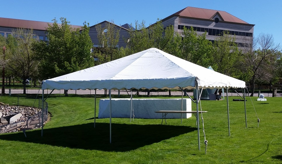 Rent A 20 X 20 Frame Canopy For Your Next Party At All Seasons